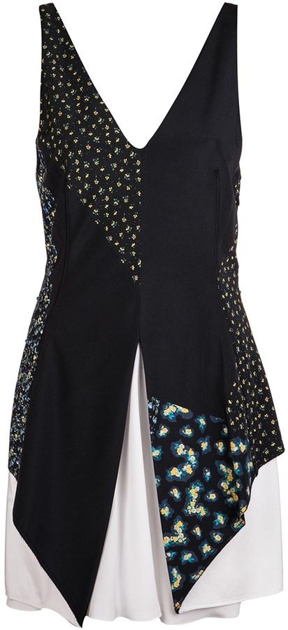 3.1 Phillip Lim Centerfold detail dress