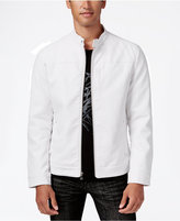INC International Concepts Men's Lukas Faux-Leather Jacket, Only at Macy's