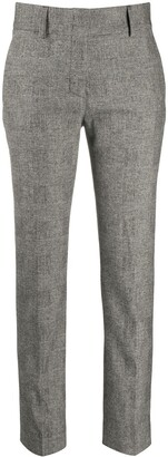 Piazza Sempione Plain Cropped Trousers