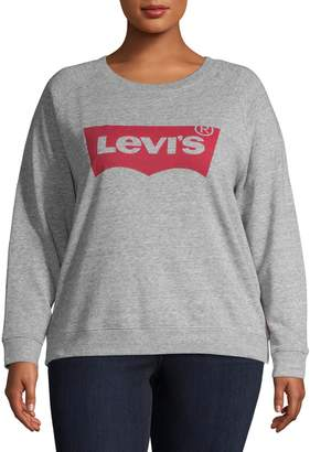 Levi's Plus Graphic Fleece Sweatshirt