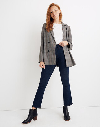 Madewell Caldwell Double-Breasted Blazer in Menswear Plaid