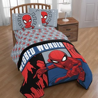The Amazing Spiderman Marvel Spiderman Webbed Wonder Twin Bed in a Bag
