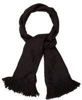 Dolce & Gabbana Floral Fringed Scarf