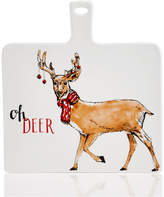 Holiday Lane Oh Deer Cheese Board, Created For Macy's