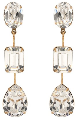 Jennifer Behr Allanah crystal-embellished earrings