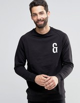 ONLY & SONS Crew Neck Sweat with Chest Embroidery