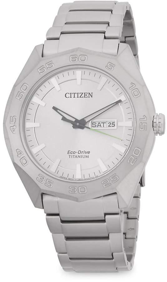 Citizen Men's Classic Titanium Bracelet Watch