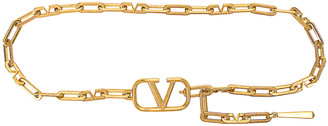 Valentino Chain Belt in Antique Brass | FWRD