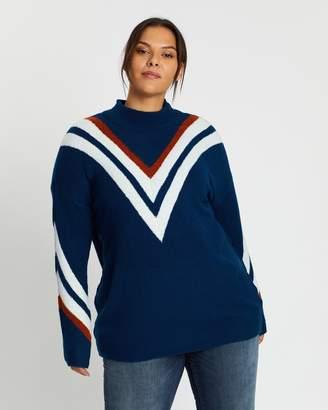 Only Carmakoma Valde High Neck Pullover