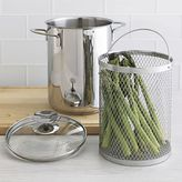 Crate & Barrel Stainless Cookware by Berndes Asparagus Steamer. 3 qt.