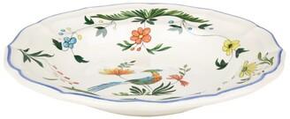 Gien Oiseaux De Paradis Soup Plate (22.5Cm)