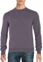 Black Brown 1826 Merino Wool Crewneck Sweater