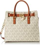 MICHAEL Michael Kors Hamilton North/South Tote (Vanilla)