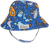 Flap Happy Upf 50 Bucket Hat (Baby) - Sea Safari - Medium