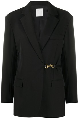 Sandro Single-Breasted Tailored Blazer