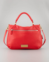 Marc by Marc Jacobs Washed Up Amee Satchel Bag, Scarlet