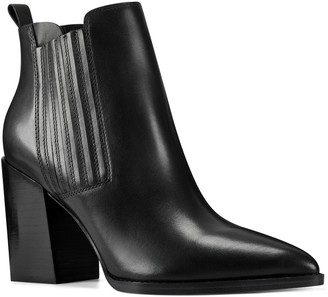 Nine West Beata Women's Leather Ankle Boots