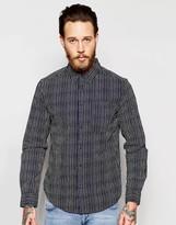 Wrangler Stripe Long Sleeve Regular Shirt