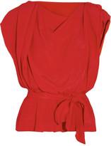 Vivienne Westwood Draped crepe top