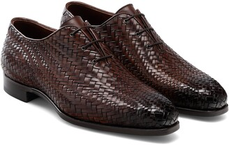 Magnanni Hayes Woven Whole Cut Shoe