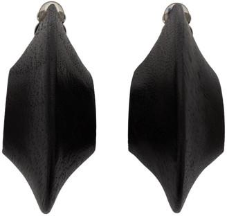 Monies Jewellery Black Jane Earrings