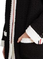 Thom Browne Eyelash Knit Drop Shoulder Cardigan ShopStyle