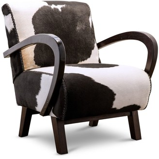 Santorini Imports Sedan Chair Cowhide