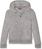 Tommy Hilfiger Girl's Ame DG Thdw Lux HD Zip Hknit L/S Sweatshirt