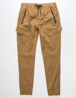 Brooklyn Cloth Twill Cargo Pocket Mens Jogger Pants