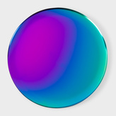 Paul Smith Round Rainbow Serving Tray By Hay