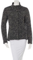 CNC Costume National Wool-Blend Textured Jacket
