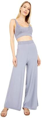 Free People Show Off Set (Pewter) Women's Pajama Sets