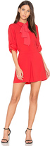 BCBGMAXAZRIA Joleen Romper in Red. - size M (also in )