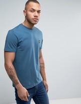 Lyle & Scott Eagle Logo T-Shirt Regular Fit in Teal Blue