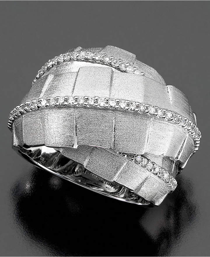 Effy Balissima by Diamond Wrap (3/8 ct. t.w.) in Sterling Silver