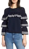Parker Rhonda Tiered Sleeve Sweater