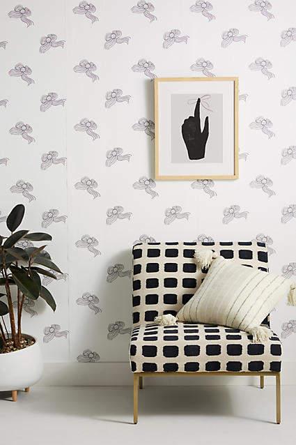 Clare V. Bows Wallpaper