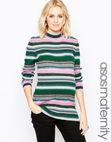 Asos Knitted Stripe Tunic