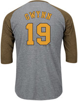 Majestic Men's Tony Gwynn San Diego Padres Coop Player Entry Raglan T-Shirt