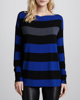 Bailey 44 Striped Jersey Top