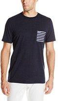 Fred Perry Men's Polka Dot Stripe Pocket T-Shirt