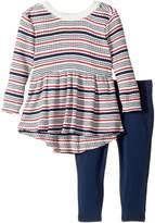 Splendid Littles Yarn-Dyed Stripe Sweater Shirt with Leggings Set (Infant)