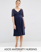 ASOS Maternity - Nursing ASOS Maternity NURSING Lace Midi Dress