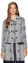 Jones New York Women's Jacquard Dbl Breasted Jacket