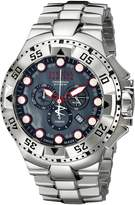 Invicta Men's 13083 Excursion Reserve Chronograph River Pearl Dial Stainless Steel Watch
