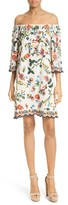 Alice + Olivia Women's Christiana Off The Shoulder Shift Dress