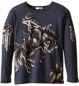 Dolce & Gabbana City Rodeo Cavallo T-Shirt (Toddler/Little Kids)