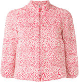 Armani Collezioni cropped jacket - women - Cotton/Acrylic/Polyester/other fibers - 46