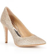 Gianni Bini Robynn Glitter Pointed-Toe Pumps