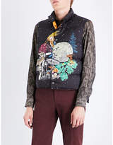 Etro Moon shell and down gilet